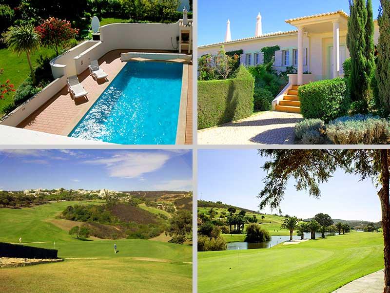 Villa MLG, Holiday Home in Algarve, Portugal - Impressions villa and Parque da Floresta