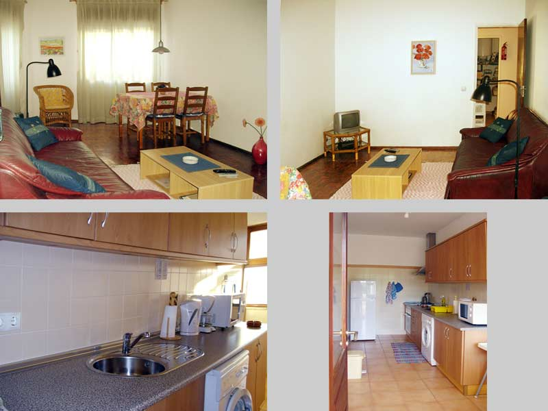 Apartment TLB in Lagos, Algarve, Portugal - Composition living room and kitchen