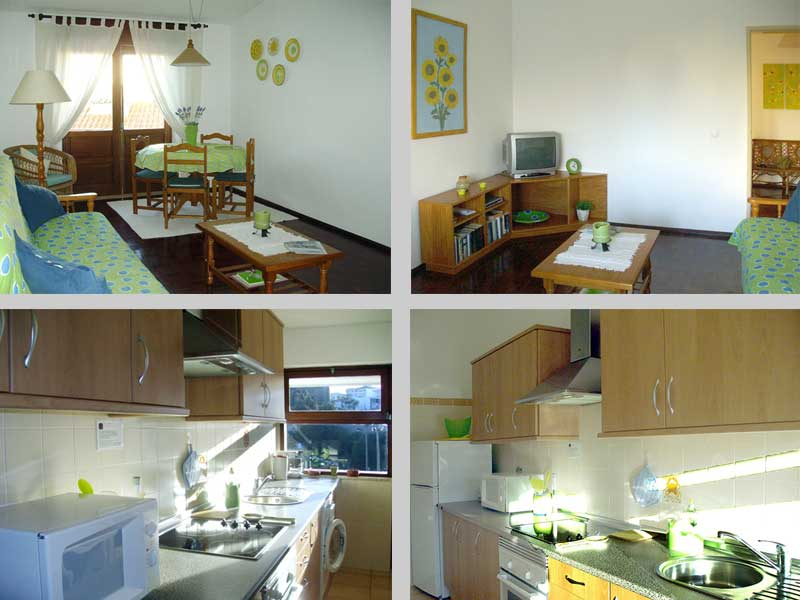 Apartment TLC in Lagos, Algarve, Portugal - Composition living room and kitchen