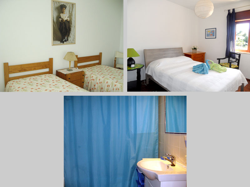 Apartment TLB in Lagos, Algarve, Portugal - Composition bedrooms and bathroom