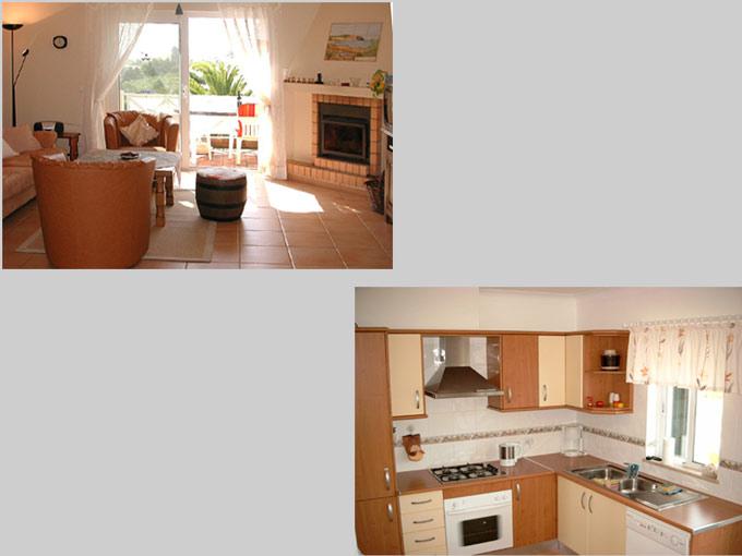 Casa BEA in Luz, Algarve, Portugal - Composition living room and kitchen