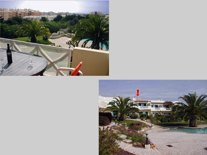 Casa BEA in Luz, Algarve, Portugal - Composition view from balcony and location