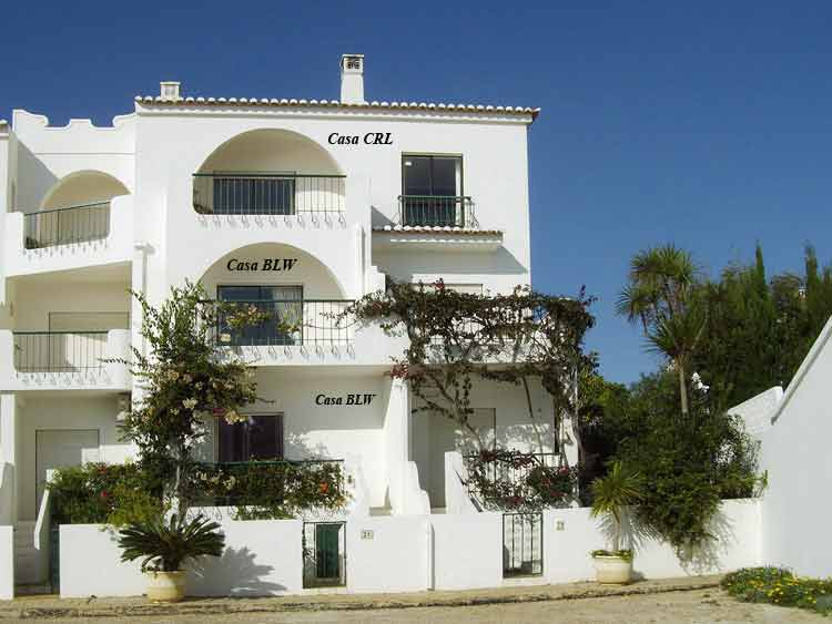 Casa CRL, Townhouse in Luz, Algarve, Portugal - Front Townhouse