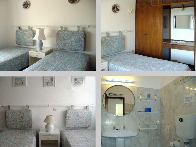 Casa CLD, Townhouse Apartment in Praia da Luz, Algarve, Portugal - Composition Bedrooms and Bathroom