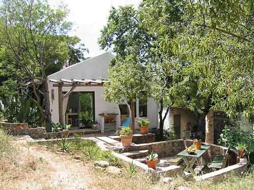 Casinha APP, holiday home near Odiaxere, Algarve, Portugal - Front with terrace
