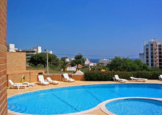 Studio QRD in Lagos, Algarve, Portugal - communal pool