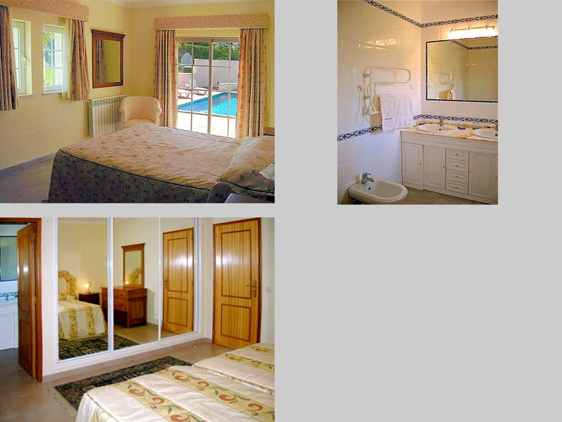 Villa MLG, Holiday Home in Algarve, Portugal - Composition bedrooms and bathroom